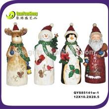 Christmas penguin ,santa, snow men , reindeer 4 of set