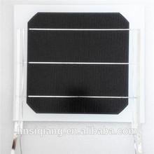 Laminated small solar panel mini solar panel 4.3W 180*200mm ,solar module one single cell on a module white backside
