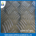made in china 1050 1060 1100 h14 five bars aluminium floor sheet
