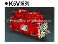 Kawasaki Hidráulico del pistón de la bomba K5v Serie K5v80, K5v140, K5v160, K5v200