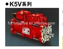 Kawasaki Hydraulic Piston Pump K5v Series K5v80,K5v140,K5v160,K5v200