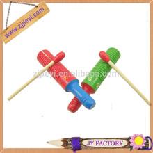 el bloque de madera niños guiro percusión instrumentos musicales de juguete