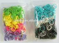 rubber band diy bracelet elastic band loom colorful loom hook