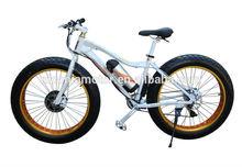 Hot Sale 26'' Fat Tyre 36v500w SNOW EBIKE