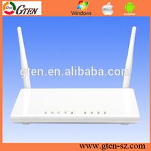 2.4GHz 300Mbps soho/enterprise VPN WPS adsl2+ modem router