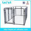 2014 hot selling iron metal fence dog kennels and runs