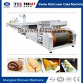 automática suíça roll camada de esponja máquina de bolo