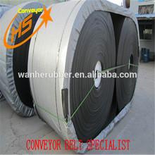 High tensile strength fabric canvass endless rubber conveyor belt