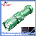 High Quality 500 Lumens Strong Light Mini CREE LED Flashlight Green