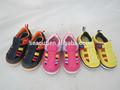 Hermosa zapatos para niños casual con anti- deslizamiento suela de tpr