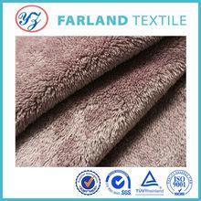 Warm quilt upholstery velvet fabric plain shu velveteen fabric for sheep wool boots