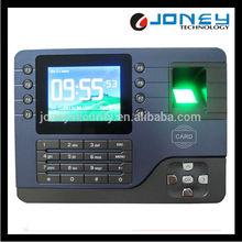 3.5 inch color screen ID card fingerprint time attendance machine
