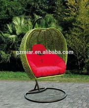 Modern Rattan Apple Hanging Chair 505043