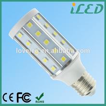 LED Indoor lights buy from china CE ROHS Aluminum alloy AC 220 Volt E27 7W corn bulb