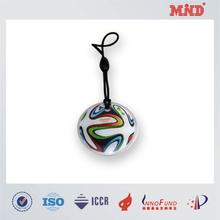 MDT038 round shape rfid smart key tag offset printing and epoxy finish