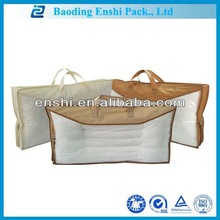 made in china high transparence Family pack pvc pillow zipper bag factory direct sale