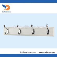 4 wall mounted hooks
