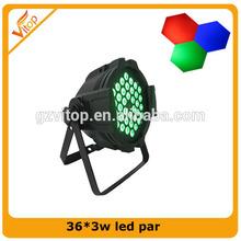 Professional China Supplier 36*3w Rgb Dj/Club /Disco Lights Led Par Lighting