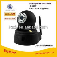 H.264 Wifi Micro camera 32GB TF Card full hd indoor ip camera with HD Resolution