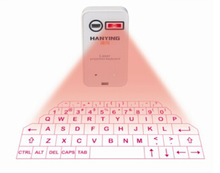 YC-H -Virtual Laser Projection Keyboard Mini Portable Wireless Bluetooth Laser Keyboard