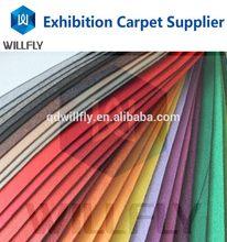 Popular professional nonwoven camel colour carpet