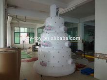 Wedding inflatable cake, Inflatable models