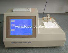Karl Fischer coulometry method, high accuracy/sensitivity water content detector TP-2100 oil moisture analyzer