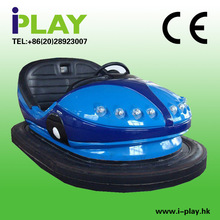 New type 2014 cool blue indoor bumper car/ exciting kids play battery bumper cars