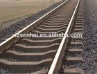 Railway track, Railway track materials