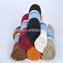 super soft solid color blanket for pet