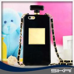 wholesale C brand Luxury perfume bottle case perfume case for iphone 6 6 plus 5s SKN003