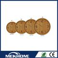 De reciclaje de reloj de pared de material / material de madera de la reloj