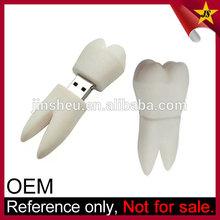 Custom novelty tooth dental doctor flash drives USB for dentist gift