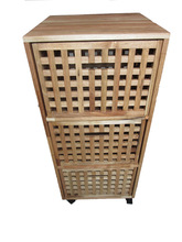 2014 High quality cheap cabinet wooden multi drawer wooden