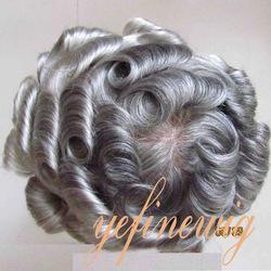 Aliexpress Brazilian Body Wave Short Style Grey Hair Wig