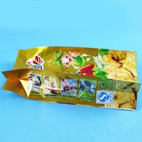 Custom printed food grade aluminium resealable bag