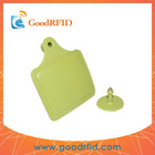 rfid sheep ear tag can be put HF/UHF chip inside made by PU material mainly used for animal management