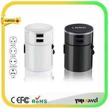 World Travel Adapter promotional gift plug converts UK/US/EU/EU plugs