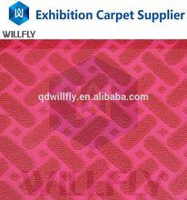 Fashion promotional mastic color carpet jacquard