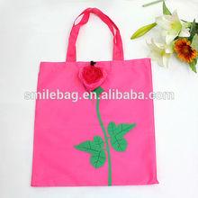 foldable shopping bag rose