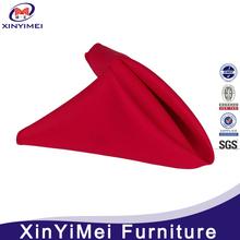 wholesale100% cotton blue disposable linen napkins