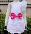 Gros une épaule robe d'anniversaire pour fille 5 anos