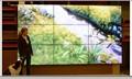 55 pollici montati a parete cornice sottile supermercato centro commerciale pubblicitario lcd display video a parete