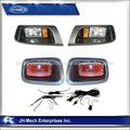 Ajustable durable carrito de golf kits de luz, deluxe ez txt ir llevó la luz