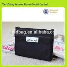 2014 hot sale black cotton mesh cell phone bag