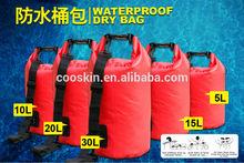 Eco-friendly waterproof tarpaulin dry bag backpack