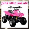 MC-303 cheap pink kids mini 50cc atv