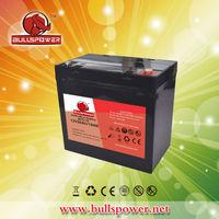 Latest hotsale 12v 50ah solar PV system gel deep cycle battery BPG12-50