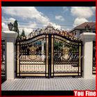 Decorative Outdoor Pedestrian Wrought Iron Gates Garden Gate