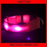 2014 Hot sale S-M-L-XL led flash collar for dog led collar,dog collar led,led dog collar dog leashes sex dog